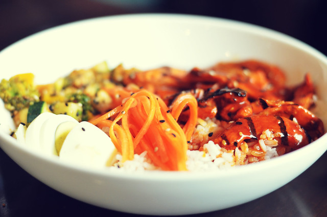 [090] - Grilled Chicken Donburi @AoiMumbai