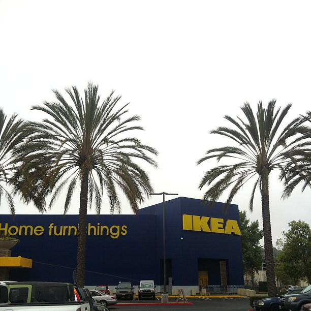 IKEA + palm trees = yes, please!