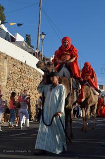 Moros y cristianos / Mojacar/Dromedarios