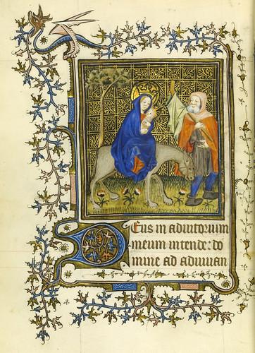 014-Horae Beatae Virginis Mariae…89v- Biblioteca Nacional de Varsovia
