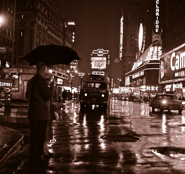 Vintage Times Square NYC: 1950s