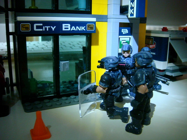 NMPD Police with riot shield! 9260816428_8df70a6201_z