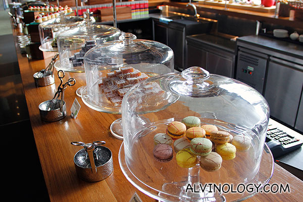 Macaroons and other pastries