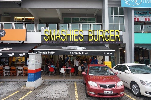 lamb burger - smashies burger setapak KL-004