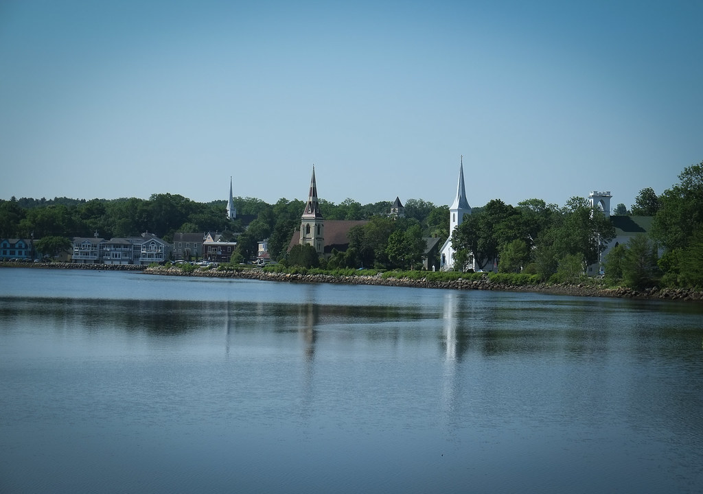 Mahone Bay's and its Awesome Churches