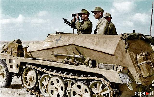 Afrika Division - Sd.Kfz.250/1