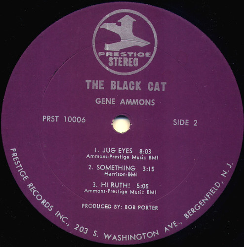 gene ammons black cat sleeve
