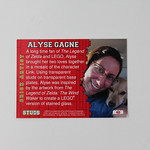 STUDS Trading Cards - Alyse Gagne