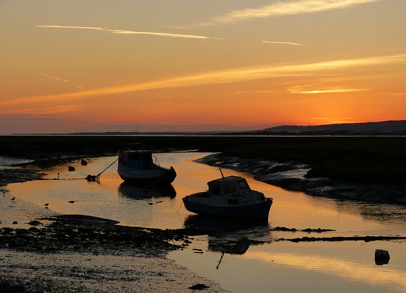 P1050932 - Penclawdd sunset