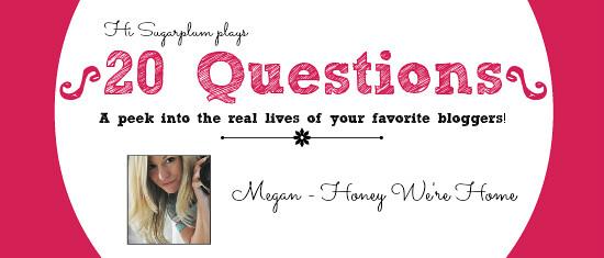 20 questions Megan