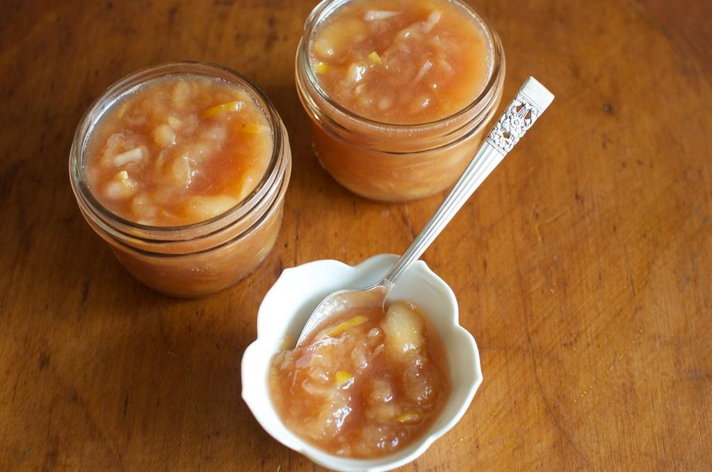 White Peach Jam on Food52