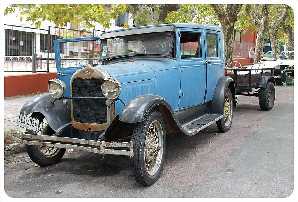 uruguay classic car colonia del sacramento