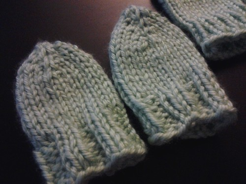 baby booties and mitts by Maharet Raider
