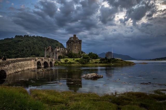 Dramatic Clouds - Eilean Donan Castle