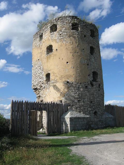 Вхід до Скала-Подільської фортеці