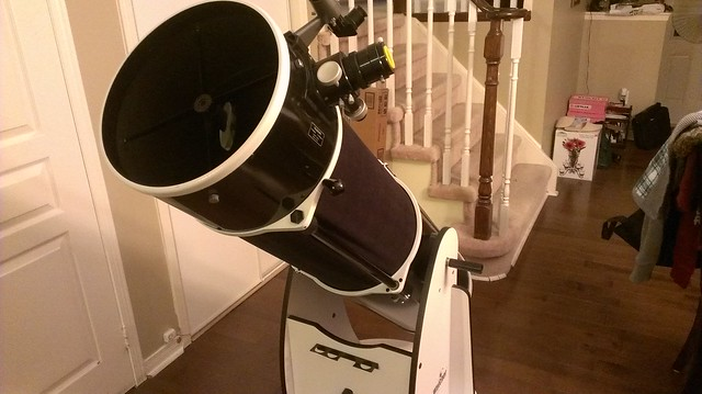 Diy Custom Shroud For 12 Sky Watcher Flextube New