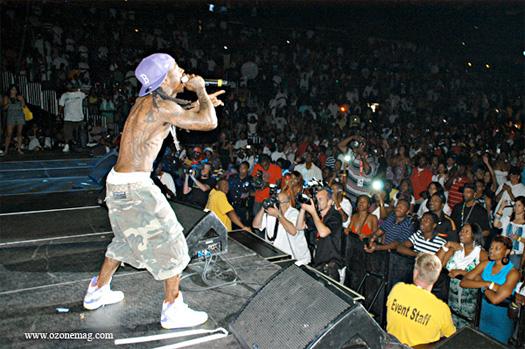 Lil Wayne Hot 107.9 Birthday Bash Style