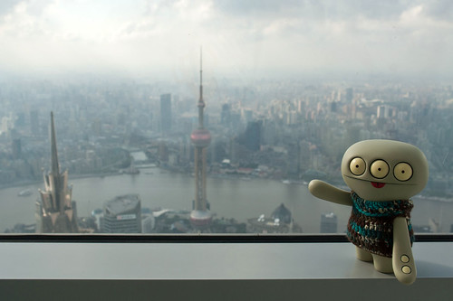 Uglyworld #2061 - On Toppers Of Shanghais - (Project Cinko Time - Image 263-365) by www.bazpics.com