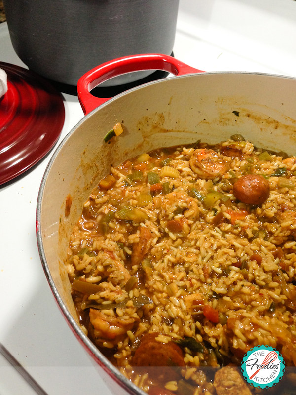 Chicken, Shrimp and Smoked Andouille Jambalaya