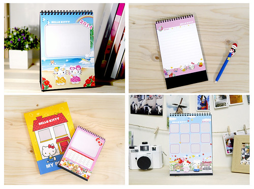 Hello Kitty客製化桌曆