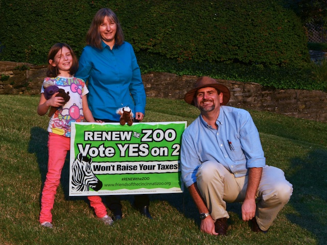 #RENEWtheZOO Yard Sign #3