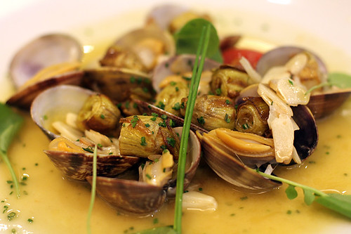 clams and artichokes
