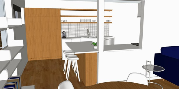 3d kitchen renderings