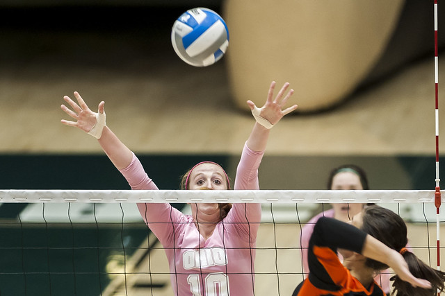 Ohio University Outside Hitter Kelly Lamberti