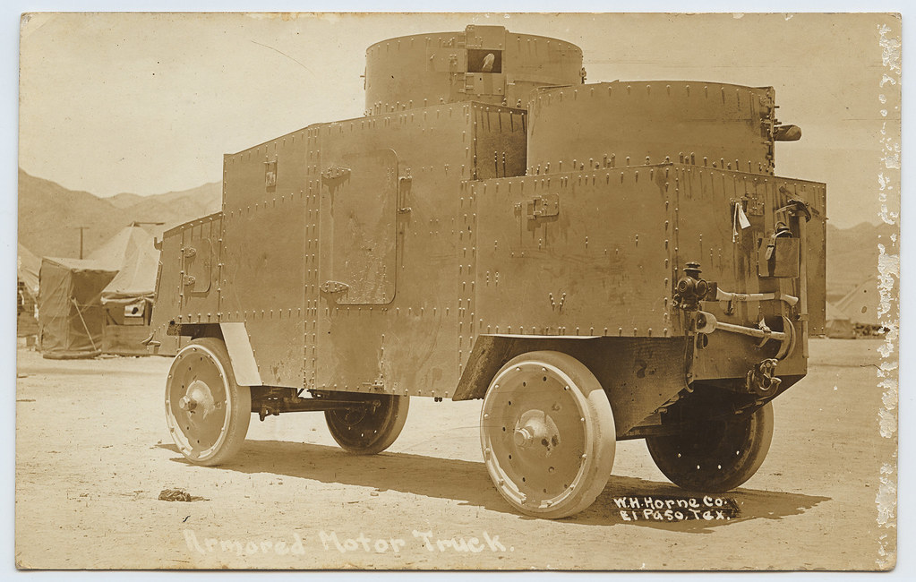 Armored Motor Truck.
