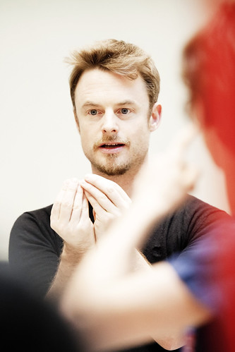 Christopher Wheeldon in rehearsal for Alice's Adventures in Wonderland © ROH/Johan Persson, 2011