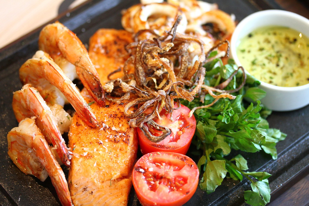 The Chop House's Mixed Grill Seafood Platter