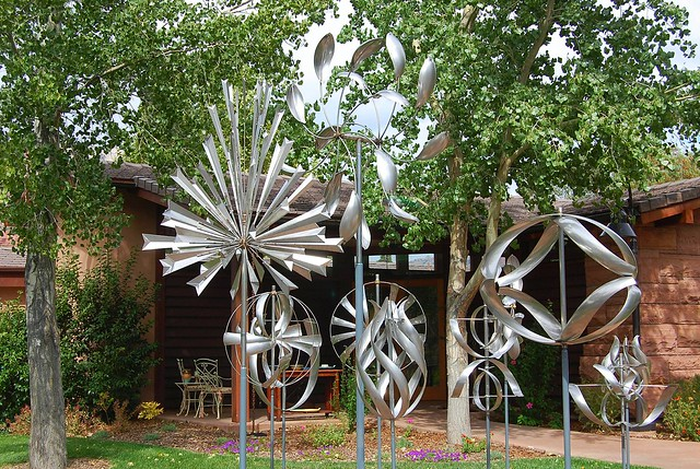 Kinetic Wind Sculpture By Lyman Whitaker Seen At Lafave