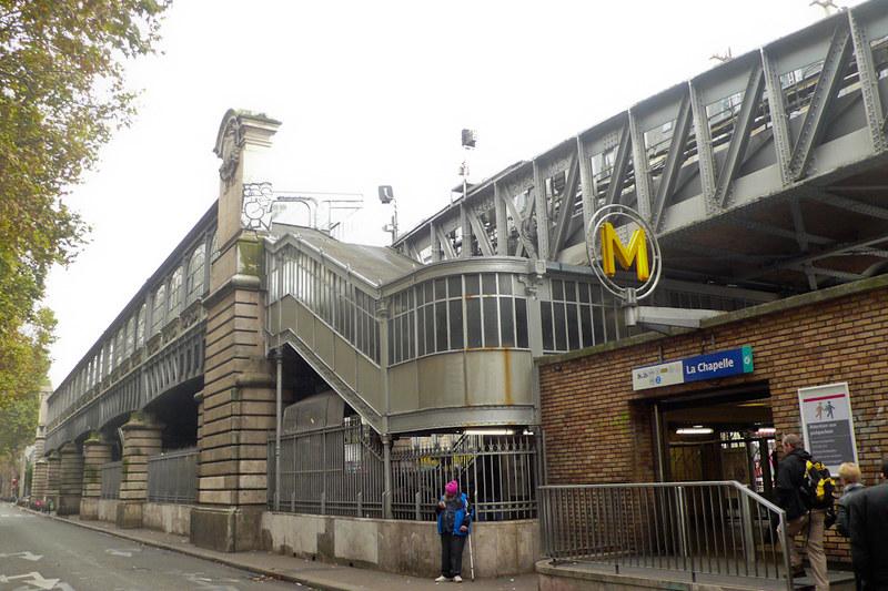 La Chapelle metro