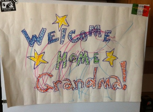 Welcome Home Grandma!