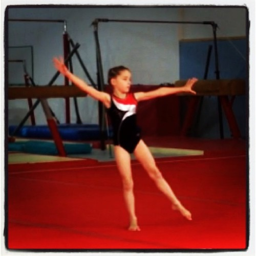 Love you Josie. You did yourself really proud. #gymnastics