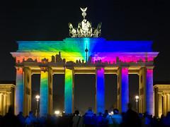 Brandenburger Tor - Festival of Lights 2013 Berlin