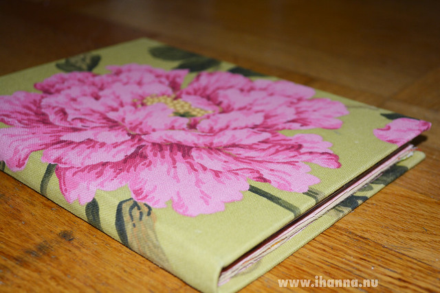 Handmade Jardin Lime Art Journal