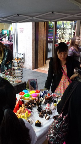 Chinatown Night Market: Ears Hair Clip!