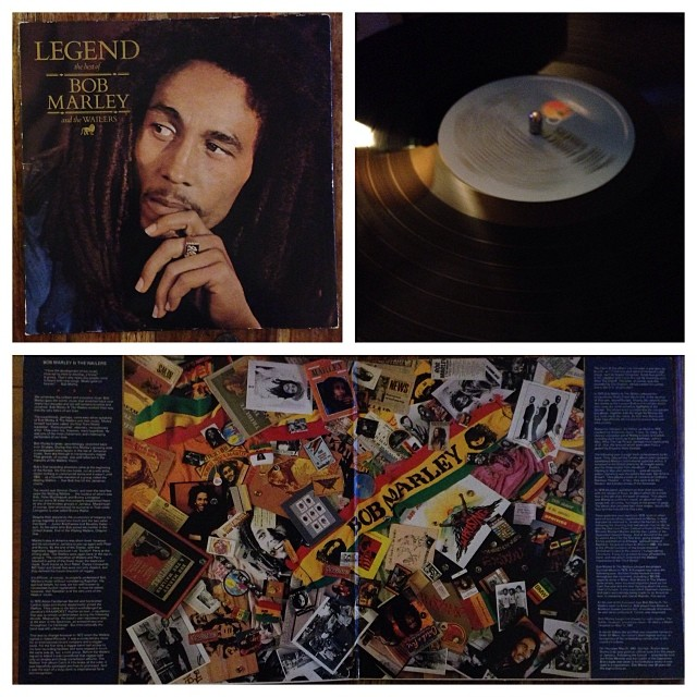 "171113_ #np ""Legend"" by Bob Marley & the Wailers #vinyl"