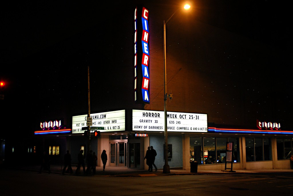 Cinerama Theatre | 2100 4th Ave, Seattle, Washington  Opened
