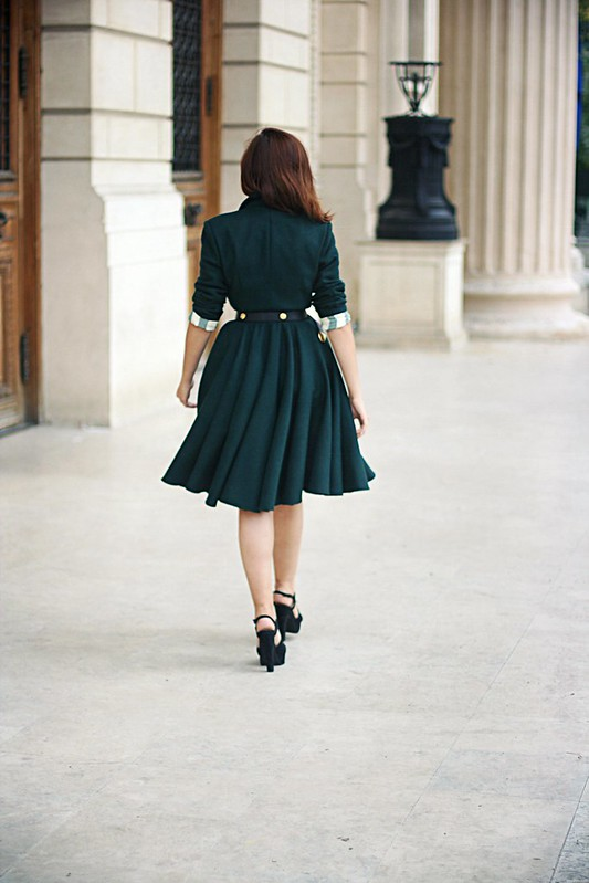 emerald green coat 3