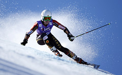 Mielzynski charges in the first giant slalom event of the 2013-14 in Solden, AUT.
