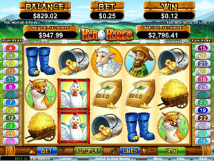 Henhouse slot game online review