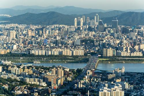 N Seoul Tower, Namsan, Seoul, South Korea - teach English in South Korea