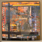 Number 9 - Christi Beckmann, Urban Landscape 10022, mixed media, starting bid $25