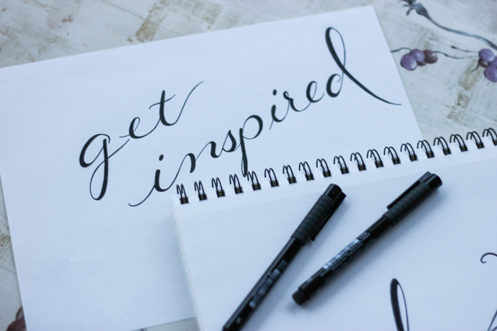 get inspired sketchbook