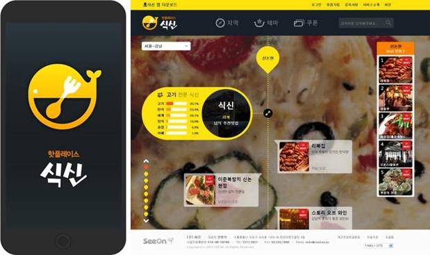 개인별 맛집 추천 앱 '식신' 서비스 인기 – 네이버 윙스푼 종료에 따른 서비스 대체 효과 톡톡