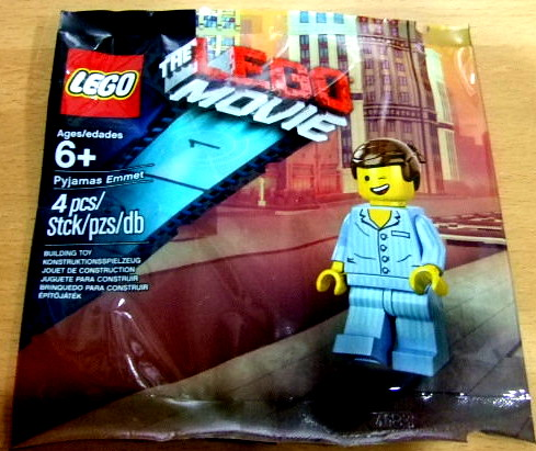 The LEGO Movie Pyjamas Emmet Polybag