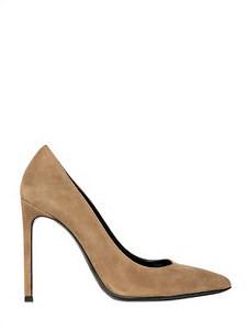 dd698340564 ... LUISAVIAROMA SAINT LAURENT 105MM PARIS POINTED SUEDE PUMPS   by  luisaviaroma.fashion