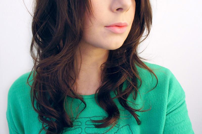Hot Roller Hair